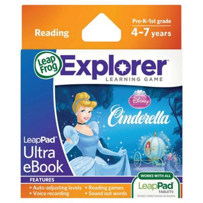 LeapFrog LeapPad Ultra eBook Disney Princess Cinderella