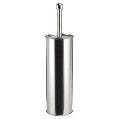 buy brushed chrome toilet brush and holder from our toilet. Black Bedroom Furniture Sets. Home Design Ideas