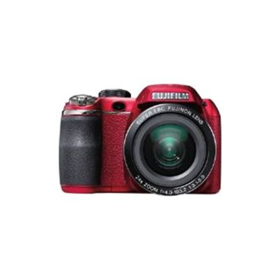 Fujifilm FinePix S4200 Digital Camera, Red, 14MP, 24x Optical Zoom, 3.0 inch LCD Screen