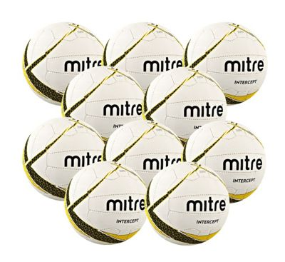Mitre Intercept 10 Ball Pack, Size 5