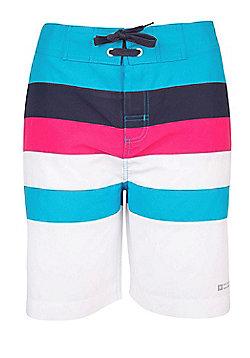 Mountain Warehouse Long Womens Boardshorts - Blue