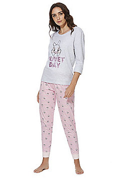 Disney Thumper Duvet Day Pyjamas - Grey & Pink