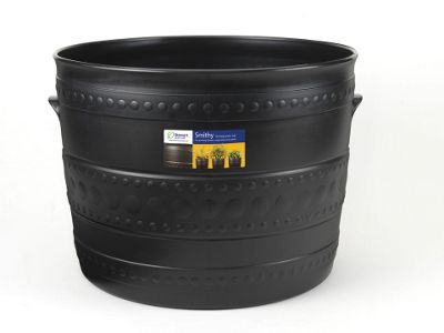 Stewart 2558036 Smithy Patio Tub Black 35cm