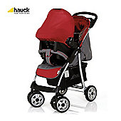 Hauck Shopper Shop N Drive Travel System, Smoke/Tango