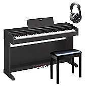 Yamaha YDP143 Digital Piano Package in Black