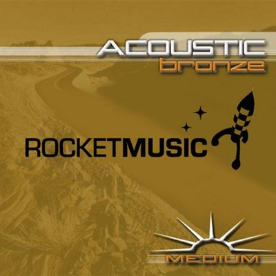 Rocket Bronze Acoustic String Set - Medium