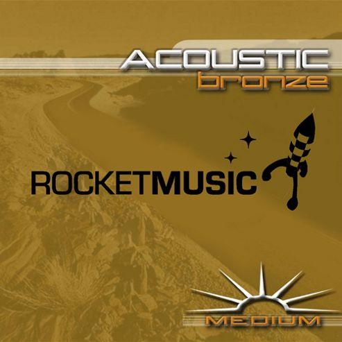 Rocket Bronze Acoustic String Set - Medium