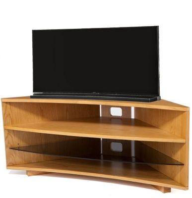 Buy Optimum Cave Corner Oak TV Stand from our TV Stands