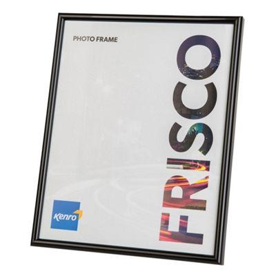 Kenro Frisco Black Photo Frame to hold a 40x50cm photo.