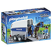 Playmobil 6922 City Action Police Horse Trailer