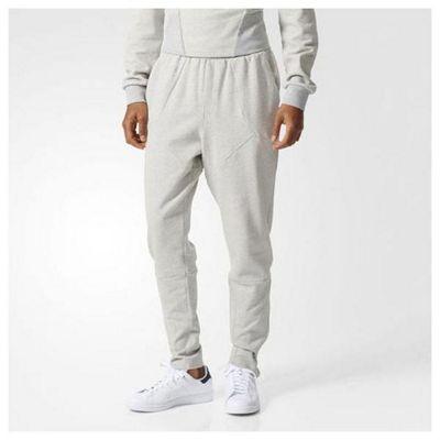 adidas Originals Mens Modern Football Pant Joggers Grey Heather - XL