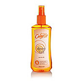 Calypso Sun Protection Deep Tan Carrot Oil Spray SPF 4 250ml