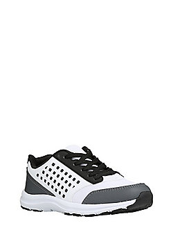 F&F Mesh Lifestyle Trainers - White