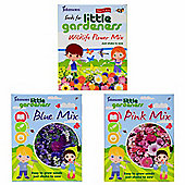 Little Gardeners Flower Seed Shaker Boxes - Set of 3