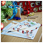 Letter To Santa Christmas Stationery Set