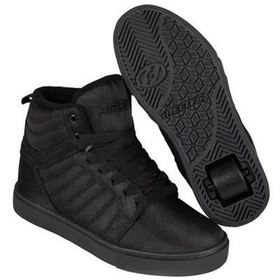 Heelys Uptown Black/Ballistic/Nylon Kids Heely Shoe JNR 12
