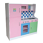 Bebe Style XXLarge Pastel Wooden Kitchen Supreme With Accessories