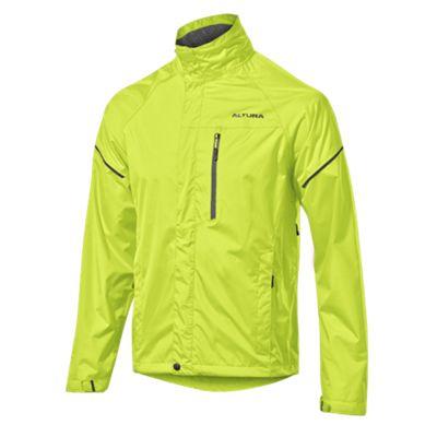 Altura Nevis III Waterproof Jacket Hi Viz Yellow Size: S