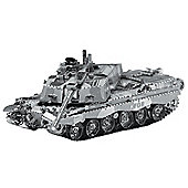 Ministry of Defence MOD Challenger 2 Tank Metal Puzzle