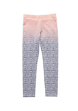 F&F Active Ombre Space Dye Leggings - Grey