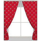 Arsenal FC Crest Curtains 66 inch x 54 inch (168cm x 137cm)