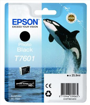 Epson T7601 Photo Black 25.9 ml