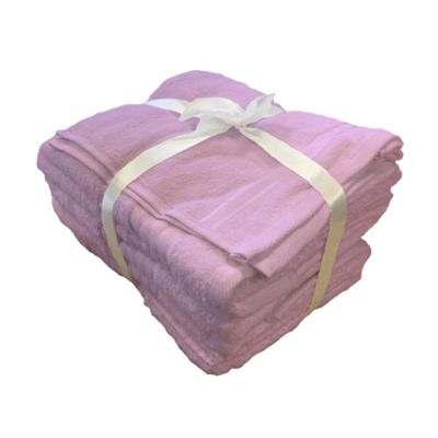 Rapport 500gsm 7 Piece Towel Set - Pink