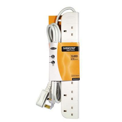 Belkin Components E-Series Power Surge Strip with Spike Protection 6-Way (3m)