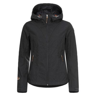 Icepeak Ladies Terra Softshell Jacket Charcoal 44