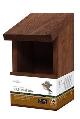 Wild Bird Classic Robin Nest Box by Chapelwood