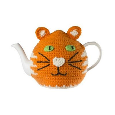 Ulster Weavers Ginger Cat Knitted Tea Cosy