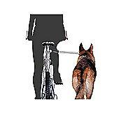 PawHut Dog Bicycle Leash Dog Bike Exerciser Distance Keeper Hands Free Dog Jogger Kit