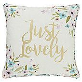 Tesco Just Lovely Cushion