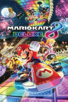 Mario Kart 8 Deluxe Poster 61x91.5cm
