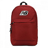 New Balance P-Classic School College Sports Backpack Rucksack - Mercury Red
