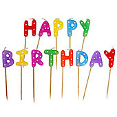 Happy Birthday Pick Candles