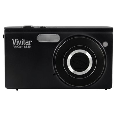 Vivatar VS830 Digital Camera, Black, 16MP, 8x Optical Zoom, 3.0