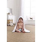 Clair de Lune Hooded Towel (Barley Bebe Grey)