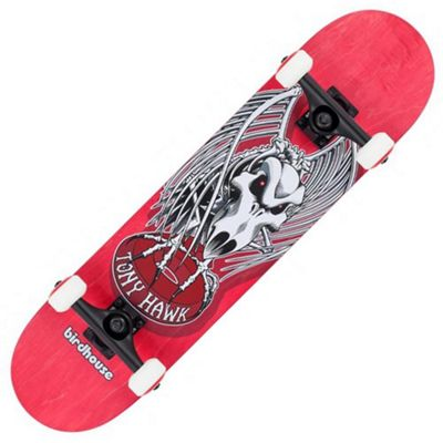 Birdhouse Stage 3 Falcon 4 7.5 Complete Skateboard - Red