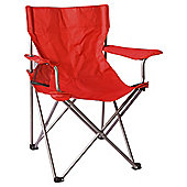 Tesco Folding Armchair - Red