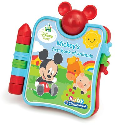 Clementoni Disney Baby Mickey's First Book Of Animals