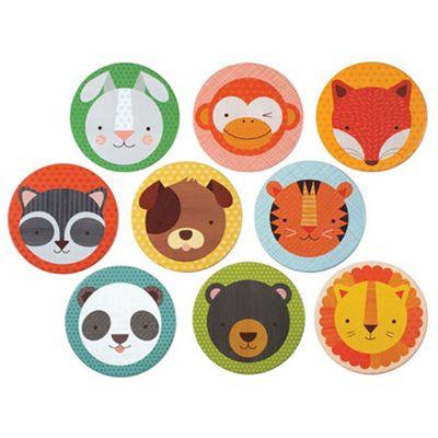 Petit Collage Animal Pals Memory Game