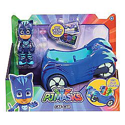 PJ Masks Cat-Car Vehicle with Catboy Figure