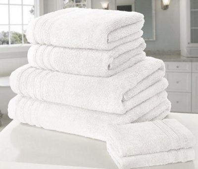Zero Twist Hand Towel, White
