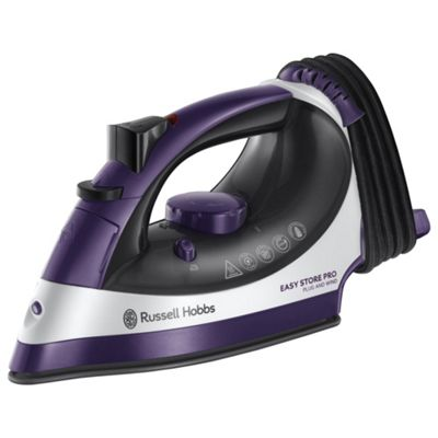 Russell Hobbs Easy Store 23780 Steam Iron Purple