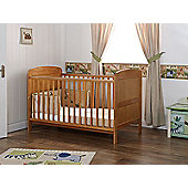 Obaby Grace Cot Bed and Mattress - Country Pine