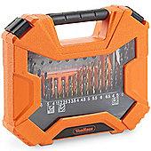 VonHaus 128pc Drill + Bit Set