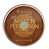 Rimmel Match Perfection Compact Bronzer 15g-003 Medium/Dark