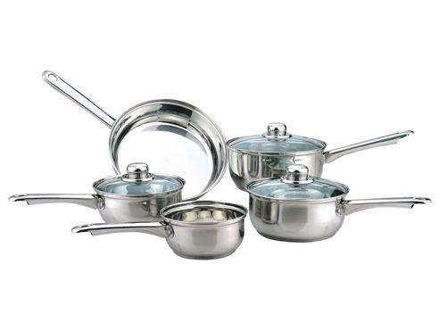 Sabichi Saucepan Set 5 Piece - Cookware