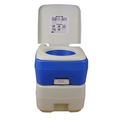 Palm Springs 20L Litre Portable Toilet Potty Loo With Flush For Camping  Caravan. Buy Palm Springs 20L Litre Portable Toilet Potty Loo With Flush